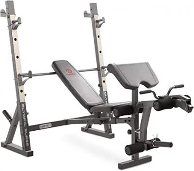Marcy Olympic Weight Bench for Full-Body Workout MD-857 10