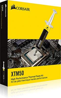 Corsair XTM50 High Performance Thermal Compound Paste | Ultra-Low Thermal Impedance CPU/GPU | 5 Grams | w/applicator 9