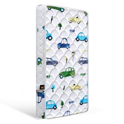 【2020 Kids' Favorites】 Bubble bear Foam Crib Mattress and Toddler Mattress -Comfortable and Breathable & Solid Safety Edge & Size:52X27.6X5(Cute car) 10